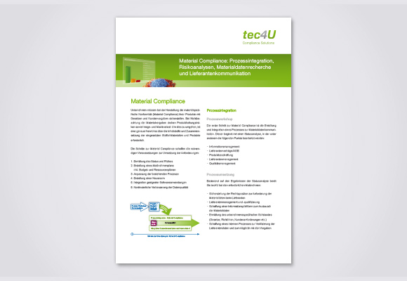 Download Flyer MaterialCompliance