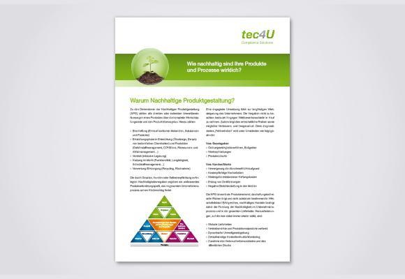 Download Flyer Nachhaltige Produktgestaltung