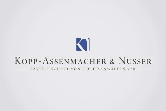 Logo Kopp-Assenmacher & Nusser Rechtsanwälte