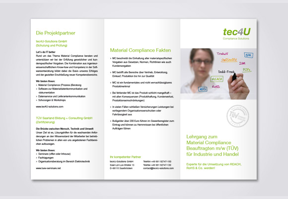 Download Flyer TÜV-Schulungen